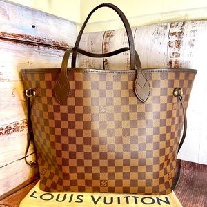 Louis Vuitton Damier Ebene Neverfull MM 2020
